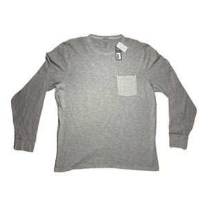 Abercrombie & Fitch Mens Graphic T-Shirt Gray Heat